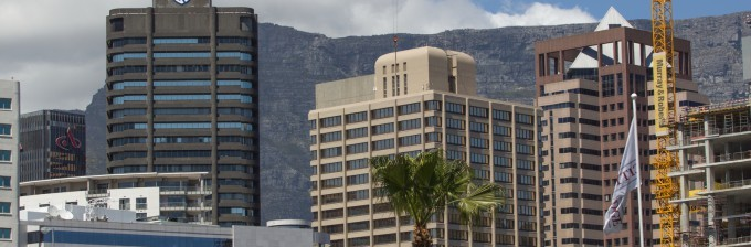 Building construction in Cape Town