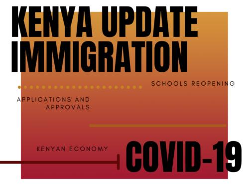 The impact of Covid-19 on Kenya's economy.